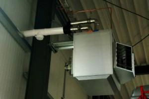 GSD mit Dach-Wand Abgassystem 1