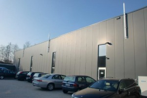 GSD mit Dach-Wand Abgassystem 2